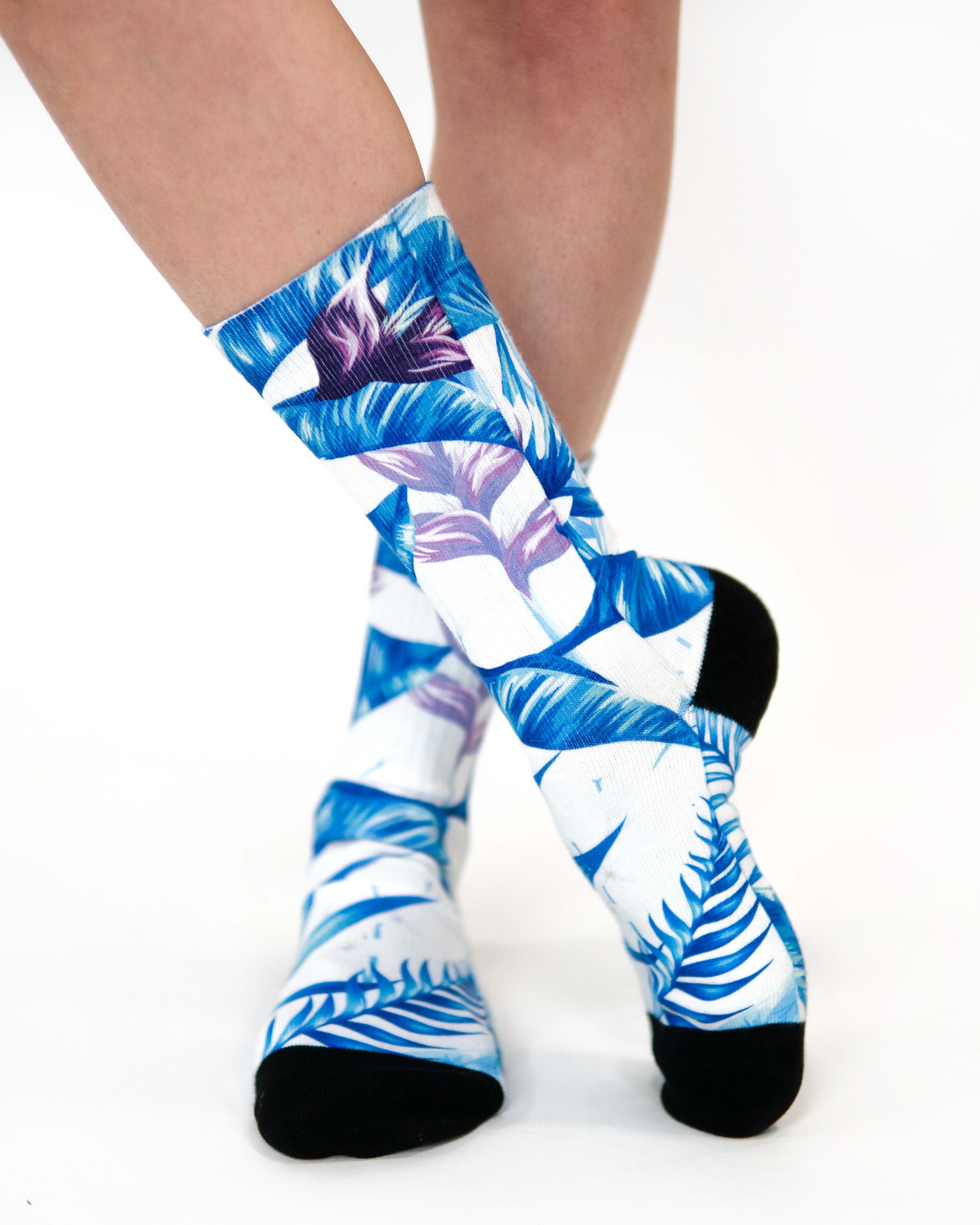 Levně Ponožky Tropical White